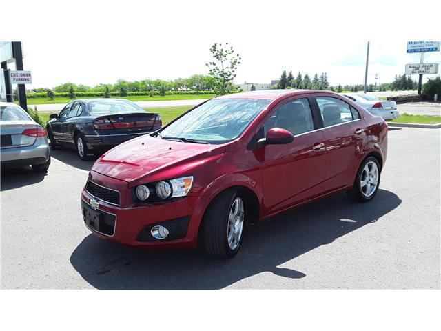 2012 Chevrolet Sonic LT (Stk: P489) in Brandon - Image 1 of 7