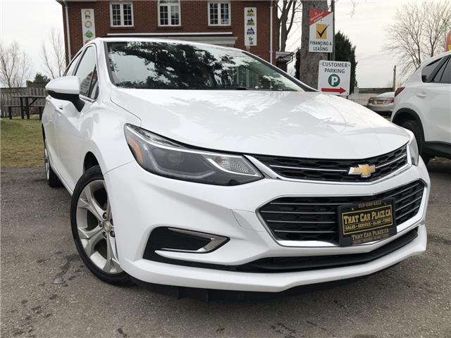 2017 Chevrolet Cruze Premier Auto (Stk: 5158) in London - Image 1 of 18