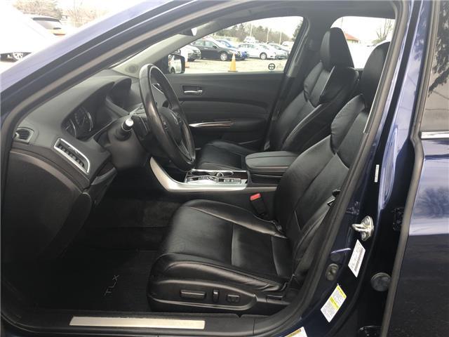 2015 Acura TLX V6 Elite (Stk: 5240) in London - Image 21 of 27