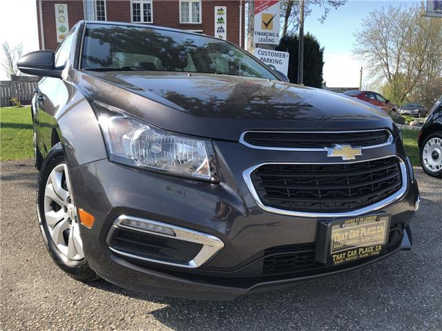 2015 Chevrolet Cruze 1LT (Stk: 5268) in London - Image 1 of 18