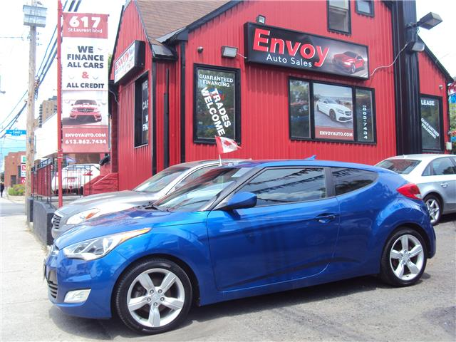 2013 Hyundai Veloster Base (Stk: ) in Ottawa - Image 1 of 24