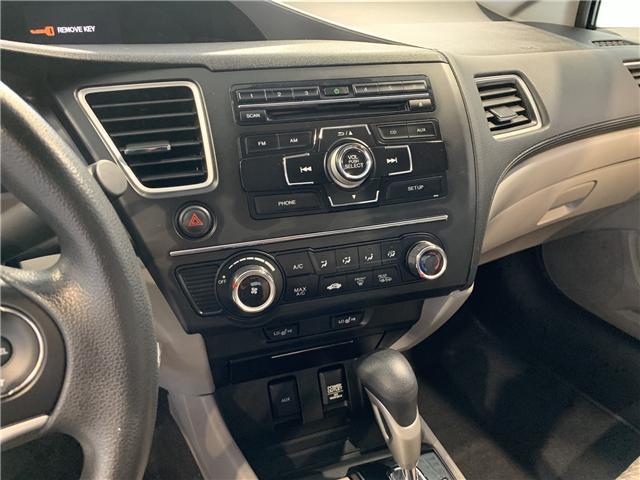 2015 Honda Civic LX (Stk: 16200A) in North York - Image 19 of 23
