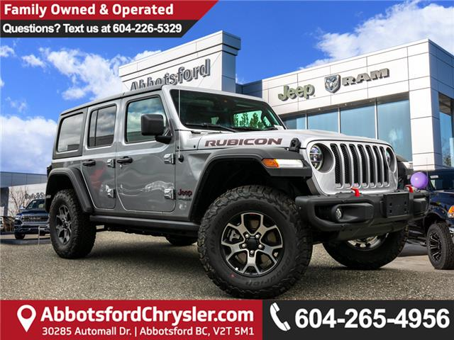 2019 Jeep Wrangler Unlimited Rubicon (Stk: K594961) in Abbotsford - Image 1 of 24