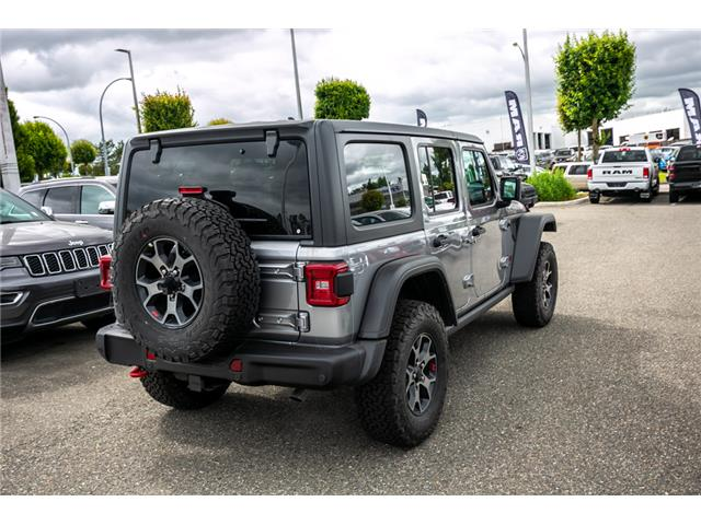 2019 Jeep Wrangler Unlimited Rubicon (Stk: K594961) in Abbotsford - Image 7 of 24