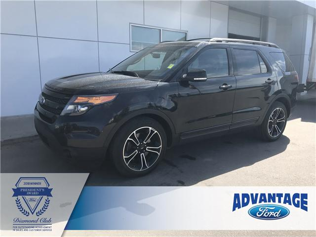 2015 Ford Explorer Sport (Stk: K-576A) in Calgary - Image 1 of 20
