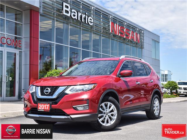2017 Nissan Rogue SV (Stk: P4577) in Barrie - Image 1 of 27