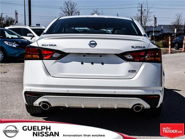 2019 Nissan Altima 2.5 Platinum (Stk: N19968) in Guelph - Image 5 of 24