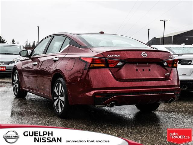 2019 Nissan Altima 2.5 SV (Stk: N19980) in Guelph - Image 4 of 23