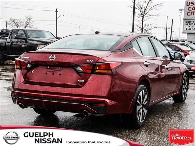 2019 Nissan Altima 2.5 SV (Stk: N19980) in Guelph - Image 6 of 23