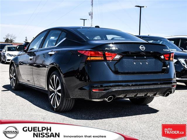 2019 Nissan Altima 2.5 Platinum (Stk: N19918) in Guelph - Image 4 of 24