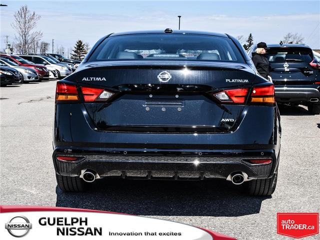 2019 Nissan Altima 2.5 Platinum (Stk: N19918) in Guelph - Image 5 of 24