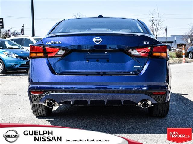 2019 Nissan Altima 2.5 SV (Stk: N19927) in Guelph - Image 4 of 22