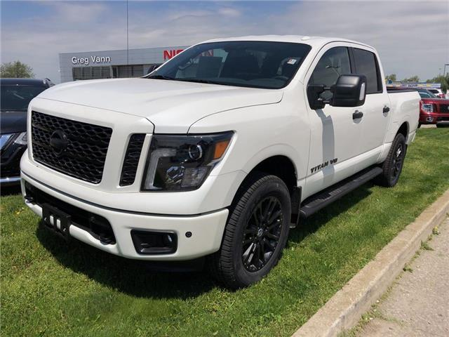 2019 Nissan Titan SL Midnight Edition (Stk: V0488) in Cambridge - Image 1 of 5
