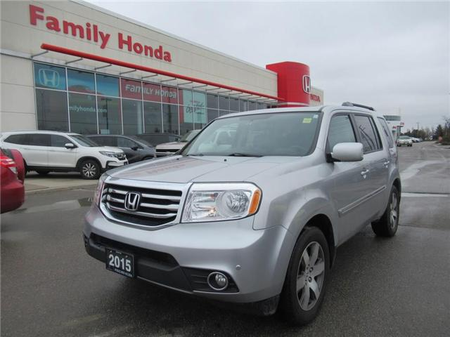 2015 Honda Pilot Touring, FULLY LOADED! (Stk: U03485) in Brampton - Image 1 of 30