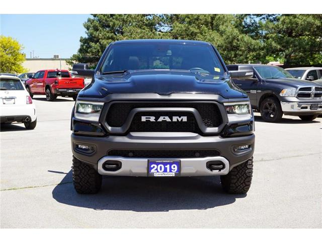 2019 RAM 1500 REBEL| 3.92 AXLE| BED UTILITY GRP| LEVEL2 GRP (Stk: J1166A) in Burlington - Image 2 of 48