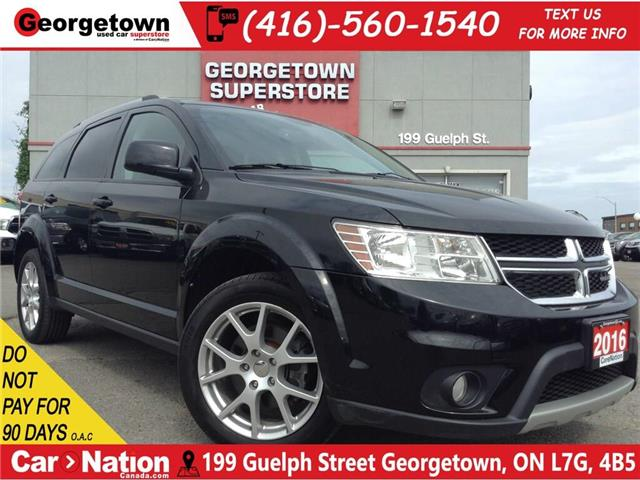 2016 Dodge Journey Limited   7 PASS   DVD   SUNROOF   V6   CAMERA (Stk: P12218) in Georgetown - Image 1 of 24