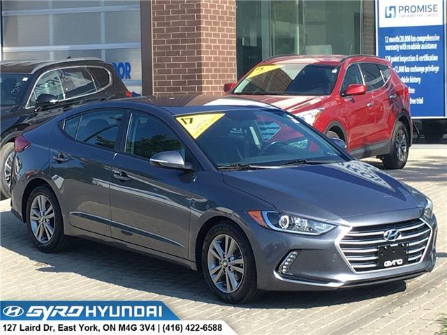 2017 Hyundai Elantra GL (Stk: H4517A) in Toronto - Image 1 of 30