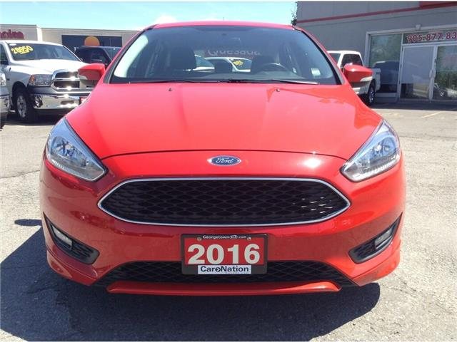 2016 Ford Focus SE  HATCH  AUTO  BLU TOOTH  HTD SEATS (Stk: P12204) in Georgetown - Image 2 of 21