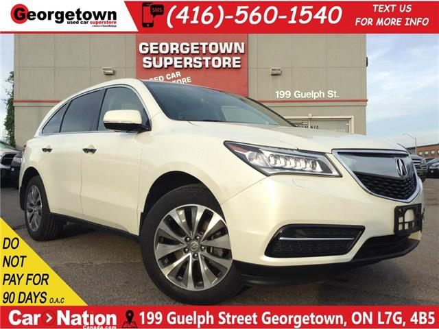 2016 Acura MDX NAVI | 7 PASS | AWD| ROOF | CAM | SAFETY ASSIST (Stk: SR19168A) in Georgetown - Image 1 of 24