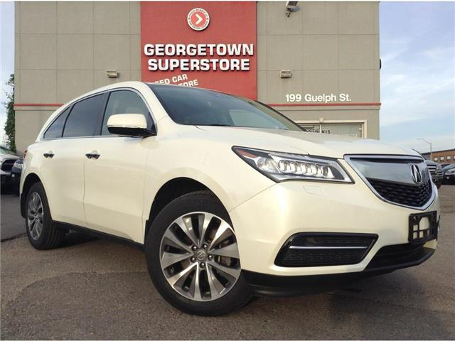 2016 Acura MDX NAVI | 7 PASS | AWD| ROOF | CAM | SAFETY ASSIST (Stk: SR19168A) in Georgetown - Image 2 of 24