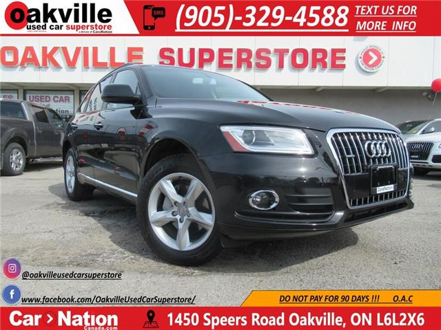 2016 Audi Q5 2.0T Komfort | LEATHER | BLUETOOTH | ACCIDENT FREE (Stk: P12230) in Oakville - Image 1 of 25
