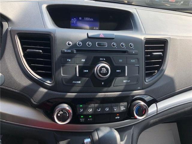 2016 Honda CR-V LX (Stk: P7100) in Georgetown - Image 10 of 10