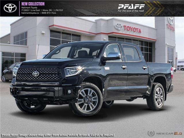 2019 Toyota Tundra 4x4 CrewMax Platinum 5.7 6A (Stk: H19533) in Orangeville - Image 1 of 23