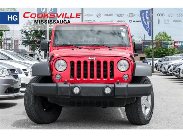 2014 Jeep Wrangler Unlimited Sport (Stk: 7920P) in Mississauga - Image 2 of 17