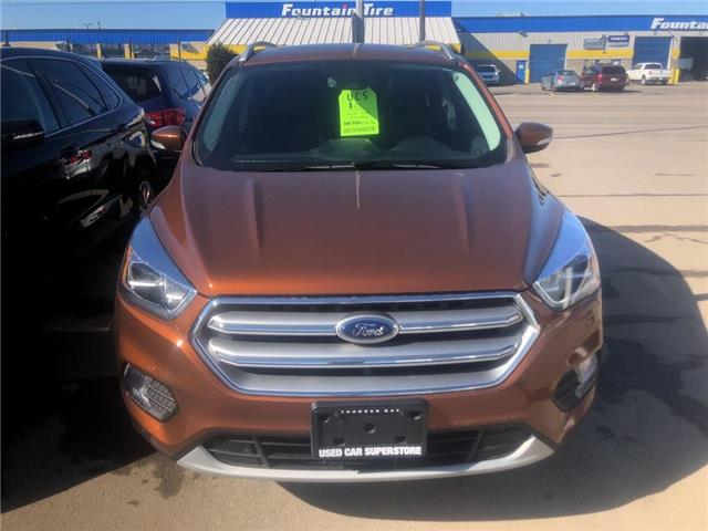 2017 Ford Escape Titanium (Stk: 3718A) in Thunder Bay - Image 2 of 10