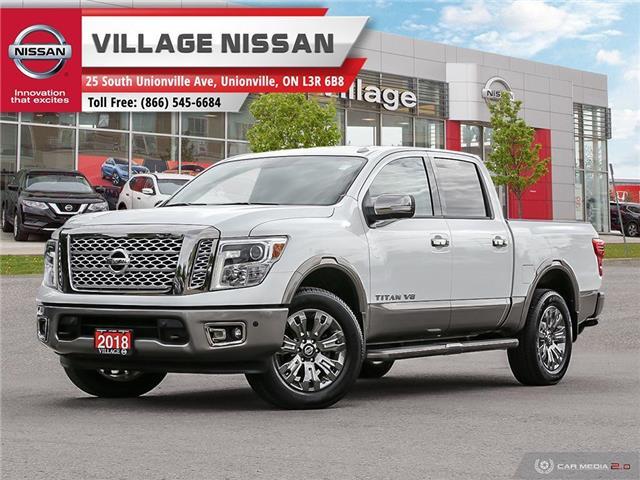 2018 Nissan Titan Platinum (Stk: P2839) in Unionville - Image 1 of 27