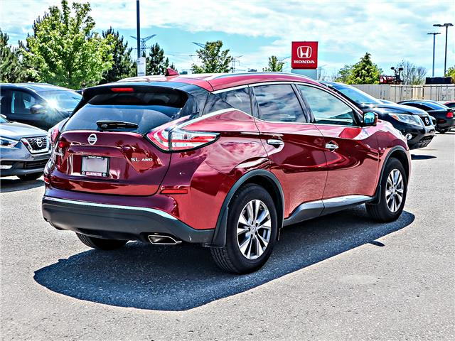 2018 Nissan Murano SL (Stk: 1133) in Bowmanville - Image 5 of 30