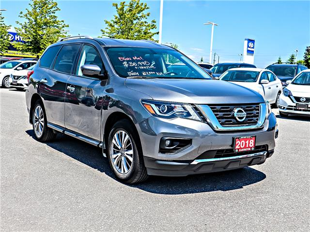 2018 Nissan Pathfinder SV Tech (Stk: JC630481) in Bowmanville - Image 3 of 30