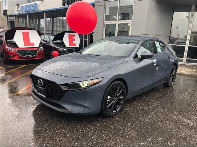 2019 Mazda Mazda3 Sport GT PREMIUM PKG, POLYMETAL WITH RED INTERIOR (Stk: D19-391) in Woodbridge - Image 1 of 10