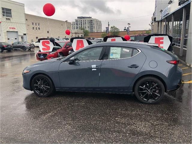 2019 Mazda Mazda3 Sport GT PREMIUM PKG, POLYMETAL WITH RED INTERIOR (Stk: D19-391) in Woodbridge - Image 2 of 10