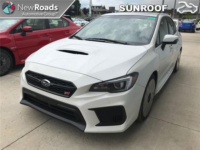 2019 Subaru WRX STI Sport-tech w/Wing (Stk: S19469) in Newmarket - Image 1 of 10