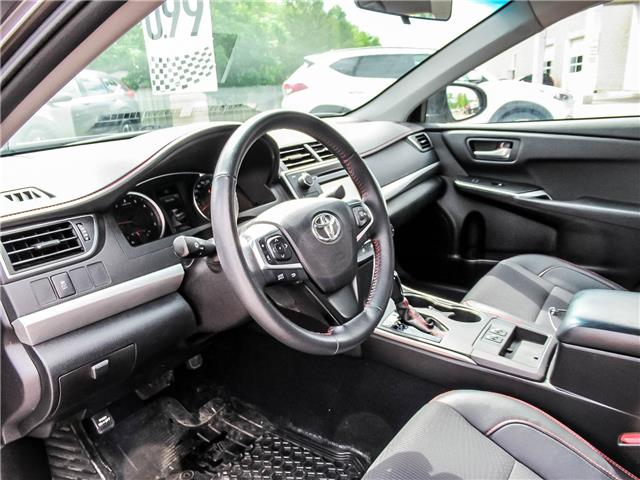 2017 Toyota Camry SE (Stk: 3351) in Milton - Image 10 of 25