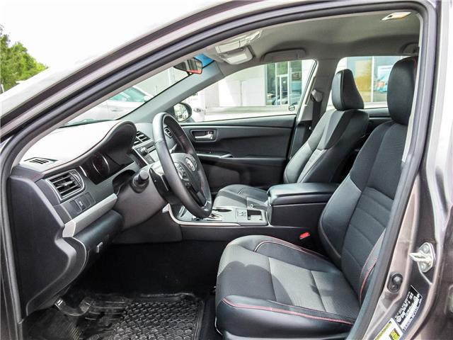 2017 Toyota Camry SE (Stk: 3351) in Milton - Image 11 of 25