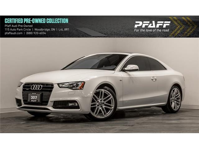 2017 Audi A5 2.0T Technik (Stk: C6738) in Woodbridge - Image 1 of 22