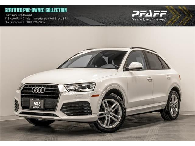 2018 Audi Q3 2.0T Komfort (Stk: C6836) in Woodbridge - Image 1 of 22