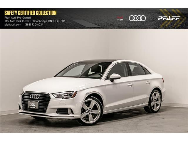 2017 Audi A3 2.0T Komfort (Stk: T16729A) in Woodbridge - Image 1 of 22