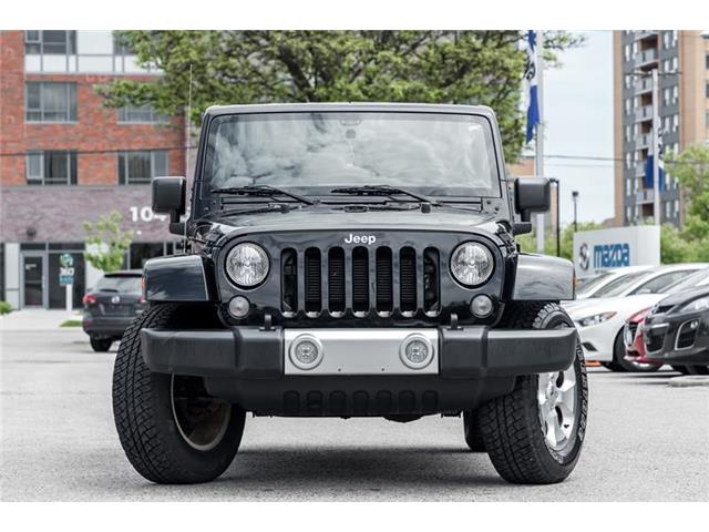 2015 Jeep Wrangler Sahara (Stk: P0422) in Richmond Hill - Image 2 of 17