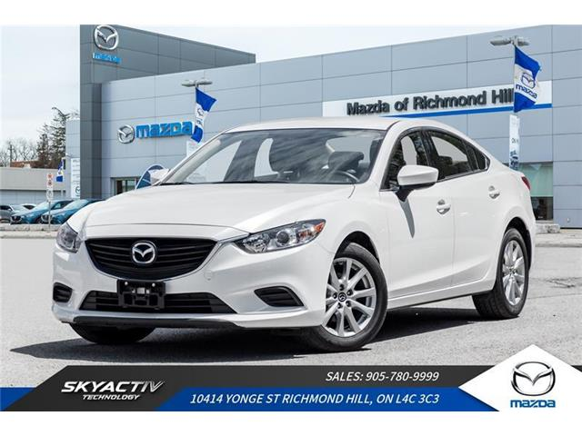 2017 Mazda MAZDA6 GX (Stk: P0423) in Richmond Hill - Image 1 of 19