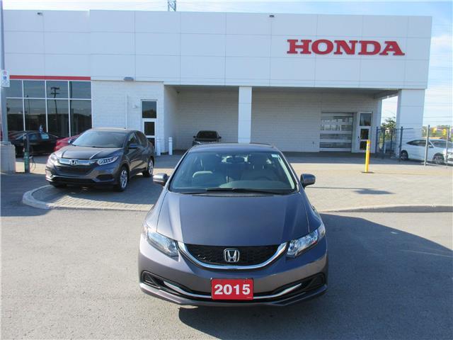 2015 Honda Civic LX (Stk: 27188L) in Ottawa - Image 2 of 11