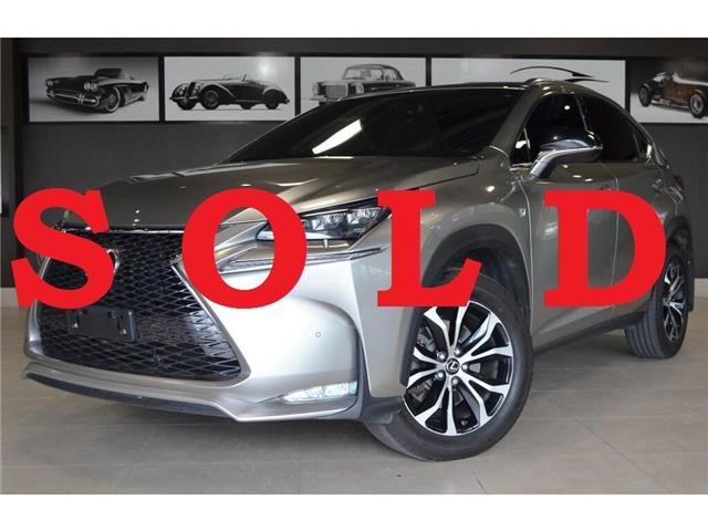 2017 Lexus NX 200t Base (Stk: AUTOLAND-U16507A) in Thornhill - Image 1 of 30