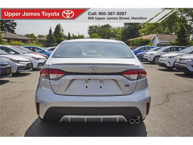 2020 Toyota Corolla SE (Stk: 200076) in Hamilton - Image 6 of 18