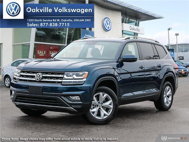 2019 Volkswagen Atlas 3.6 FSI Comfortline (Stk: 21409) in Oakville - Image 1 of 23