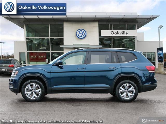 2019 Volkswagen Atlas 3.6 FSI Comfortline (Stk: 21409) in Oakville - Image 3 of 23