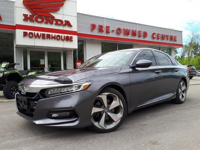 2018 Honda Accord Touring (Stk: E-2204) in Brockville - Image 1 of 9