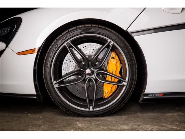 2018 McLaren 570S Coupe  (Stk: MV0198) in Calgary - Image 9 of 19
