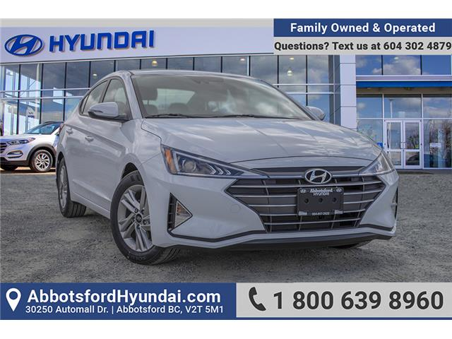 2020 Hyundai Elantra Preferred w/Sun & Safety Package (Stk: LE926885) in Abbotsford - Image 1 of 27